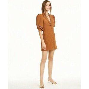 Danielle Bernstein Womens Mini Dress 6 Tuxedo NWT